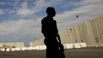 Israelische Seite des Grenzübergangs Kerem Schalom (Archiv)