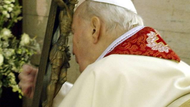 Sein Blut tritt in Mexiko eine Reise postum an: Paps Johannes Paul II. (Archiv)