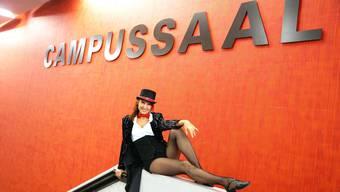 Im Campussaal Brugg-Windisch finden seit Ende 2013 Veranstaltungen statt. Archiv AZ