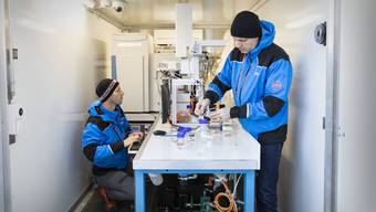 Das fahrbare Wasserlabor soll künftig als tragbares Minilabor zur Verfügung stehen.
