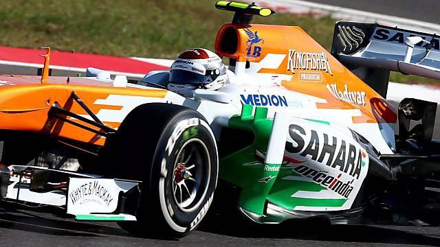 Adrian Sutil im Force India