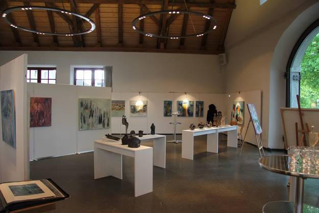 Ausstellung von Künstlerinnen Idlette Villiger-Reichmuth und Margrith Weber-Joho