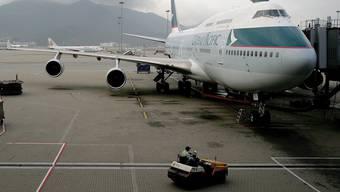 Eine Maschine der Cathay Pacific. (Symbolbild)