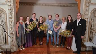 Der Azeiger verlieh in der beliebten Kulturnacht die Kulturförderpreise an sieben junge Kunstschaffende.