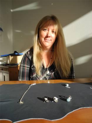 Goldschmiedin Yvonne Ruwoldt, deren Atelier in Oberengstringen liegt.