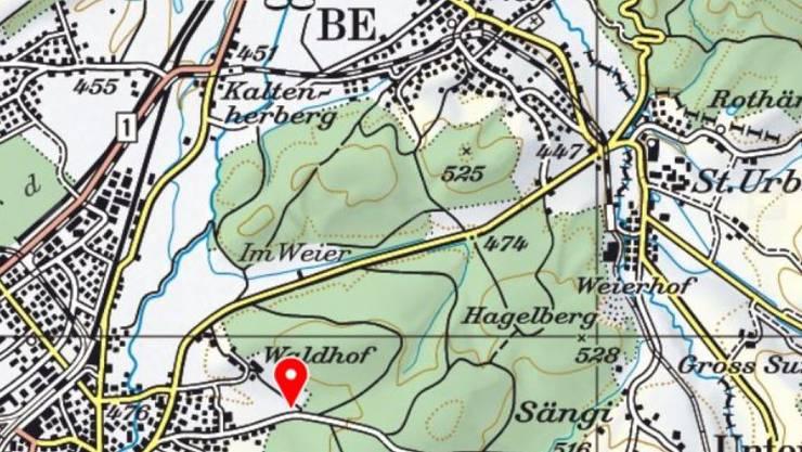 Bei der Schiessanlage im Weier zwischen Langenthal und St. Urban prallten die beiden Lenker ineinander.