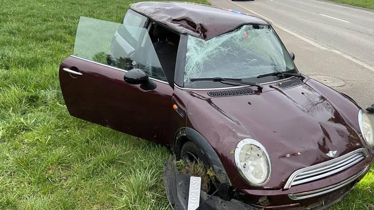 Der Fahrer wurde nicht verletzt.