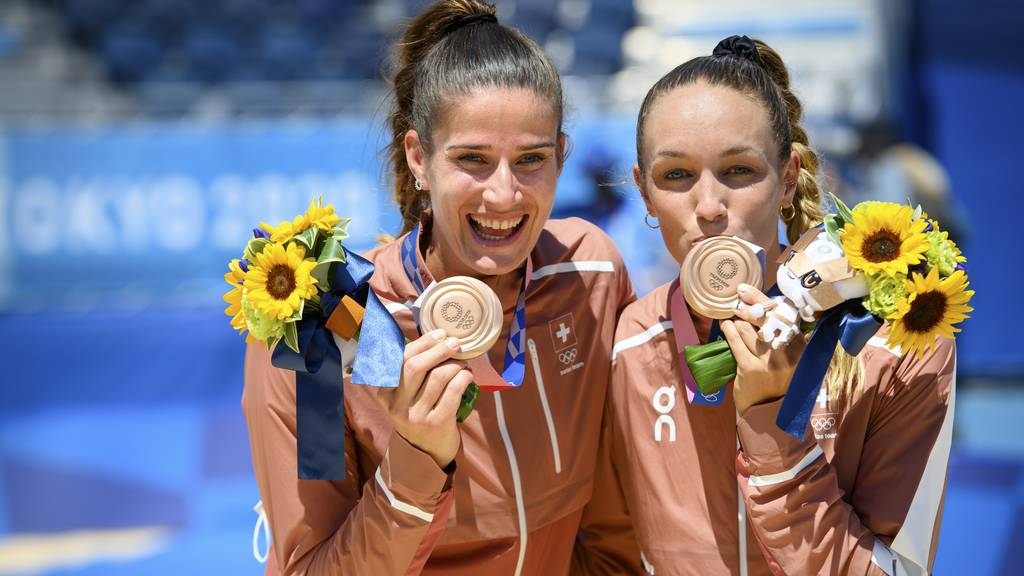 Beach-Duo Heidrich/Vergé-Dépré gewinnt Bronze