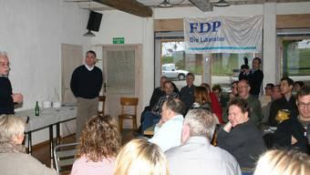 Achenbergtreffen der FDP Bezirk Zurzach zum Thema Bezirksschulen
