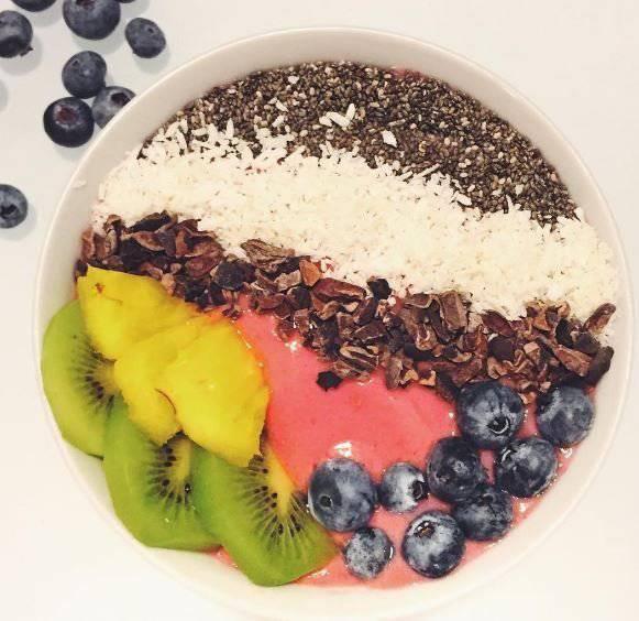 So sieht das Frühstück eines Supermodels aus. (Instagram)