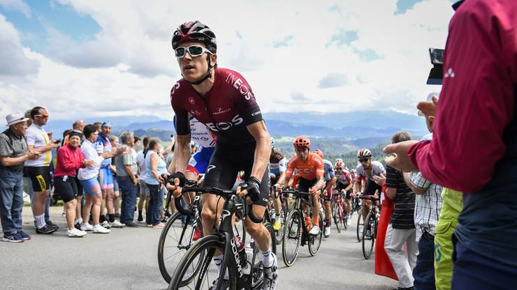 Geraint Thomas muss die Tour de Suisse aufgeben.