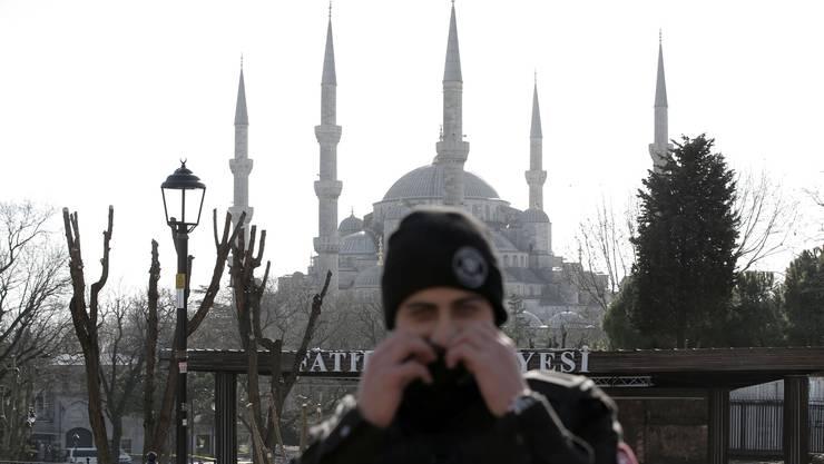 Die Explosioon ereignete sich in unmittelbarer Nähe zur Sultan-Ahmet-Moschee.