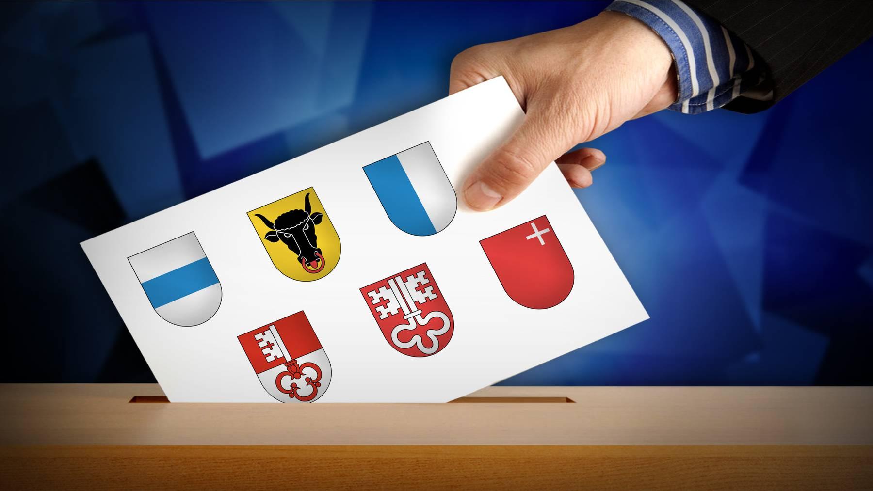 Eidgenössische Wahlen in der Zentralschweiz
