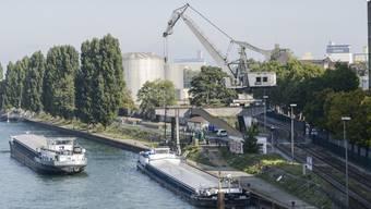 Der Hafenkran
