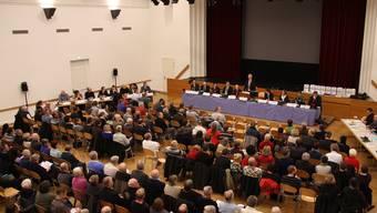 Premiere: Erstmals haben die Stimmberechtigten aus Bremgarten und aus Hermetschwil-Staffeln zusammen Beschlüsse gefasst.
