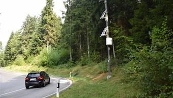 Seit längerem nur noch Zierde: die Überwachungskameras auf der Boowald-Strecke zwischen St. Urban und Vordemwald.