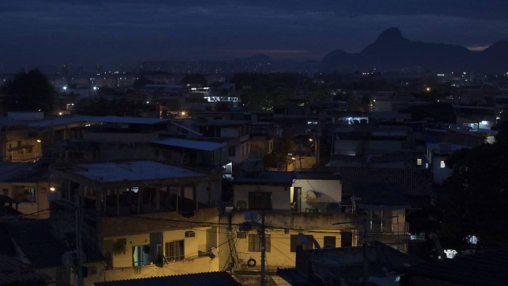 «City of God» in Rio de Janeiro: eines der berüchtigtsten und gefährlichsten Armenviertel in Brasilien. (Archivbild)