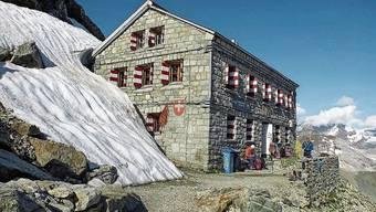 Die Rothornhütte im Wallis gehört dem SAC Oberaargau und soll neu gebaut werden: Dafür spendete Oensingen 5000 Franken.