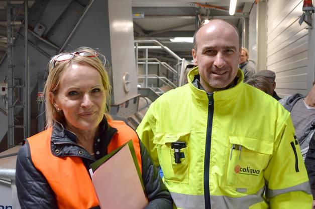 Anita Fechtig und Markus Heitz informierten die Besucher.