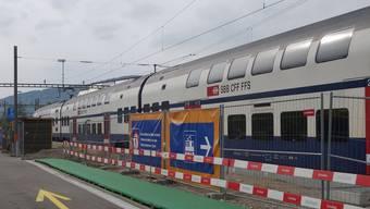 Bahnhof Niederweningen.