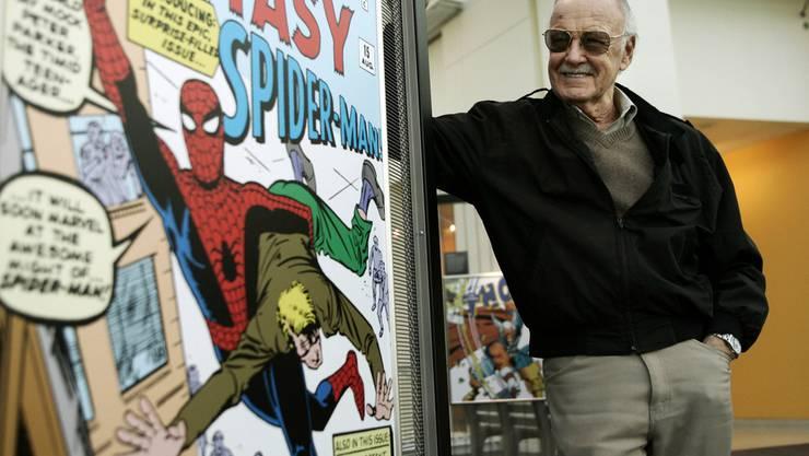 Gilt als Vater von Superhelden wie Spiderman, Hulk oder Thor: Stan Lee.