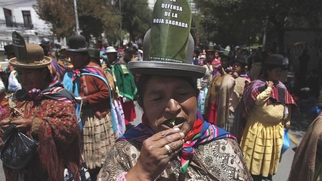 Koka-Blätter haben Tradition. Deshalb will sie Bolvien legalisieren.