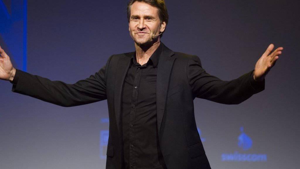 Rob Spence kann so schnell nichts aus der Ruhe bringen: Der australisch-schweizerische Komiker ist Meister der Improvisation (Archiv).