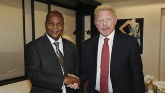 Boris Becker hat nicht nur ein bisschen geschwindelt über seinen Diplomatenstatus, sondern er könnte an einer strafbaren Handlung beteiligt sein: Sein Diplomatenpass sei eine Fälschung, teilte das Aussenministerium der Zentralafrikanischen Republik am Dienstag mit. (Archivbild)