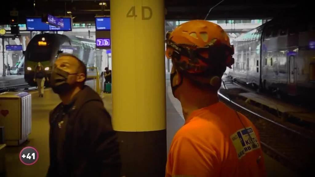 Baustelle Bahnhof Bern: Der Bauführer