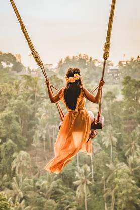 Schaukeln fürs Foto: Im Schaukelpark  «Swing Bali» warten 13 Schaukeln darauf für 35 Dollar perfekt inszeniert zu werden.