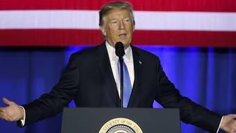 US-Präsident Trump führte in Indianapolis seine Pläne für eine Steuerreform aus.