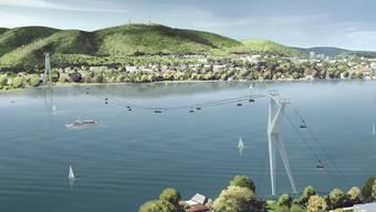 Eine Seilbahn über den Zürichsee wollte die ZKB für ihr 150-Jahr-Jubiläum bauen. Der Eglisauer Walter Büchi findet, das Geld könnte besser investiert werden.