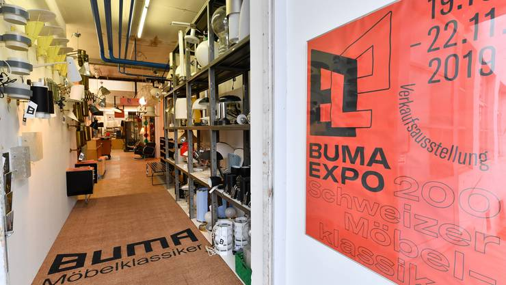 Buma Expo in der ehemaligen Bono-Schreinerei in Niedergösgen