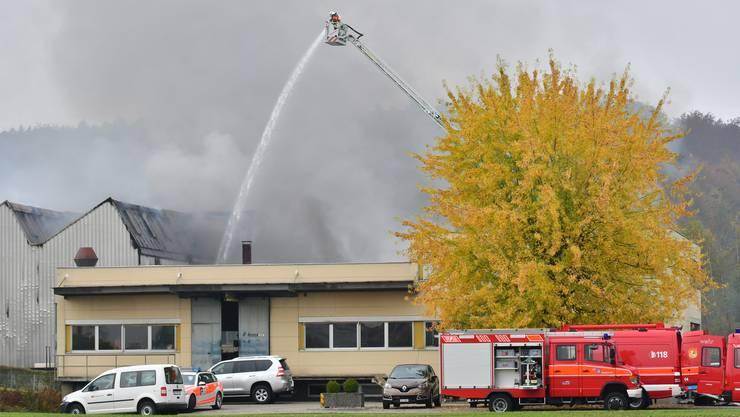 Die Brandursache in der Härterei Schmid ist geklärt.