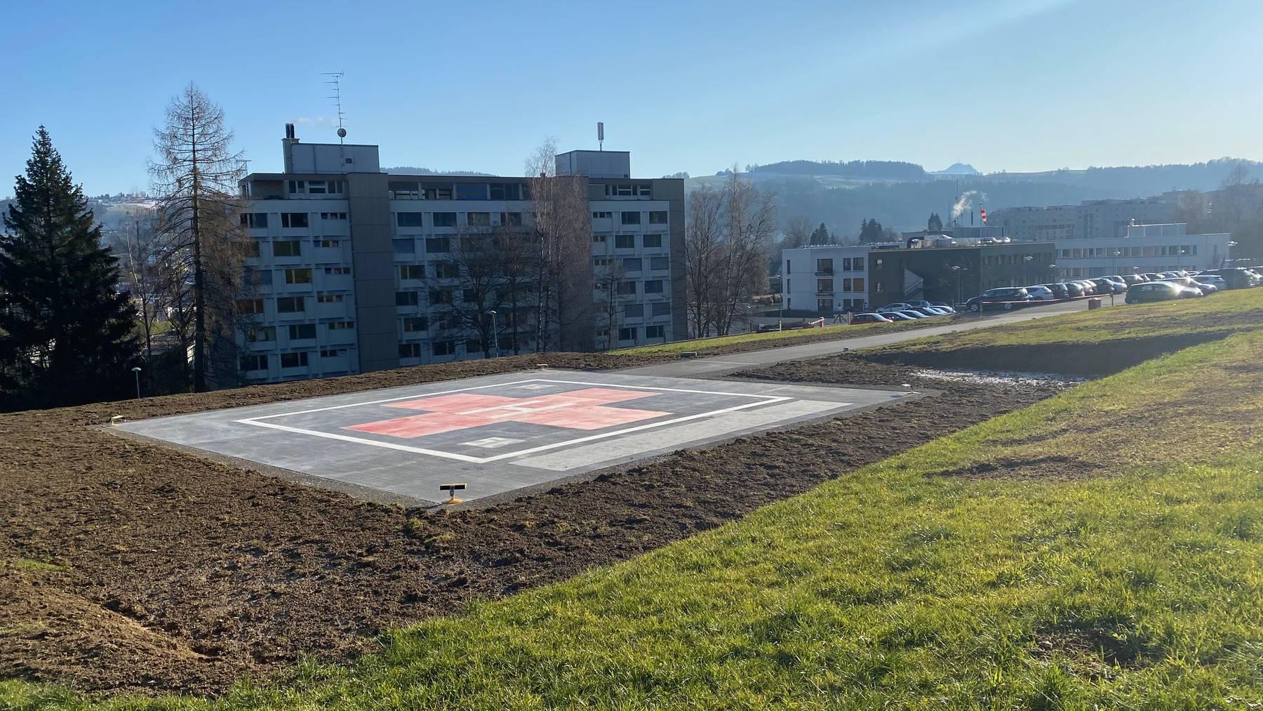 Helilandeplatz Stephanshorn 2020
