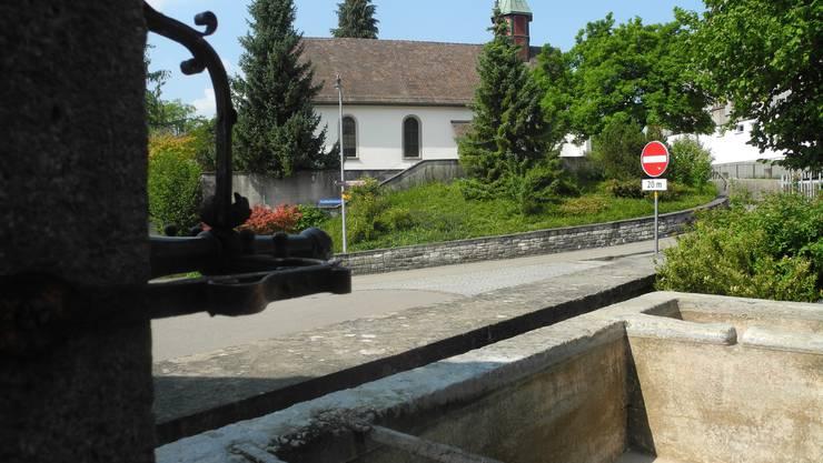 Ob an der Kirchgasse: Die Gemeinde Urdorf hat den Brunnen das Wasser abgedreht.