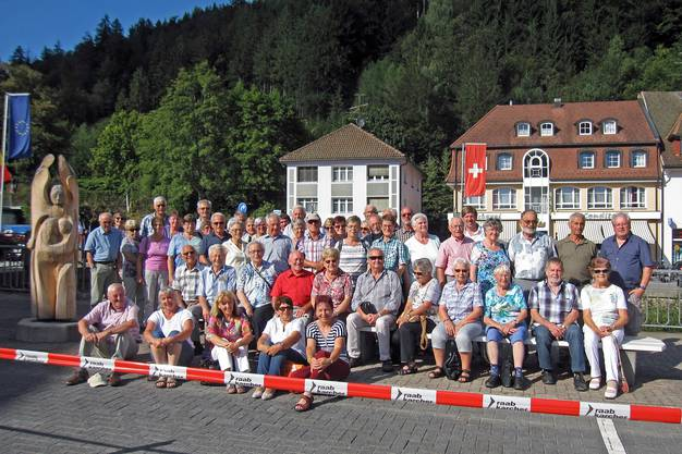 Gruppenfoto in St. Blasien