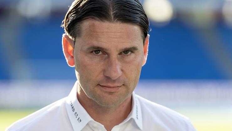 YBs Trainer Gerardo Seoane hat die Aufgabe, seine Spieler nach der bitteren Niederlage in der Champions-League-Qualifikation rechtzeitig für die Meisterschaft wieder aufzurichten