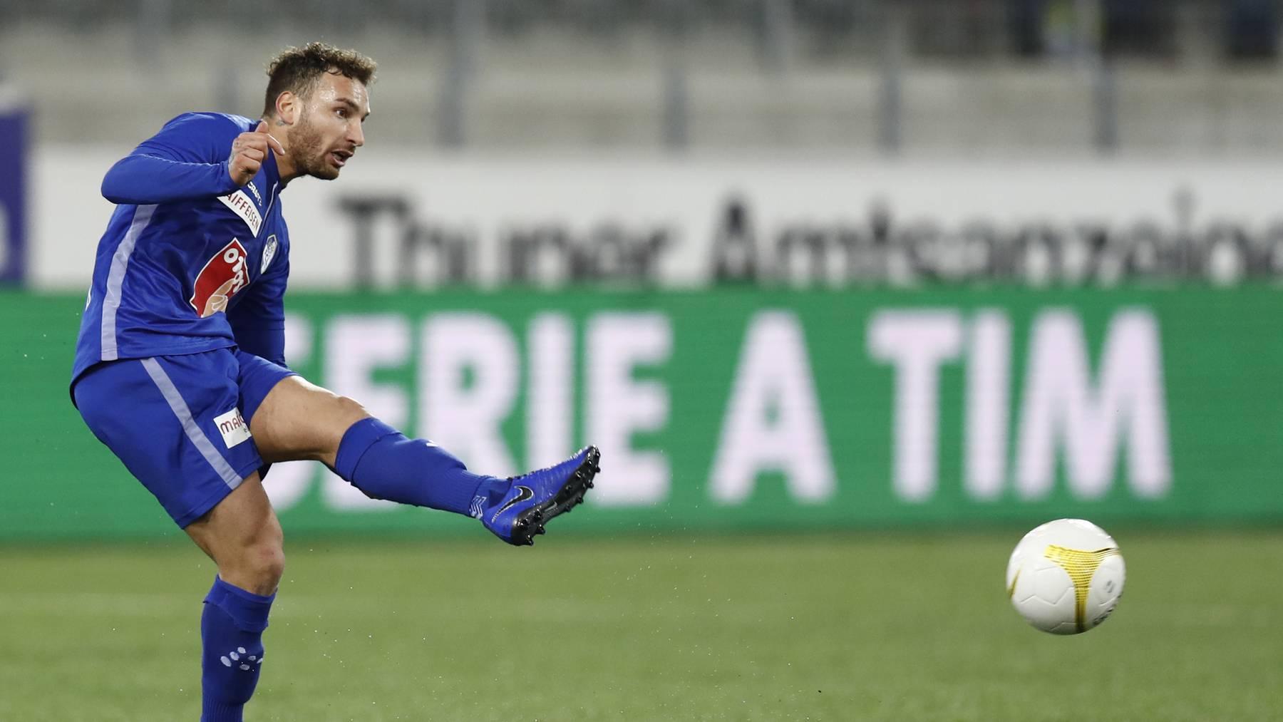 FCL-Stürmer Francesco Margiotta