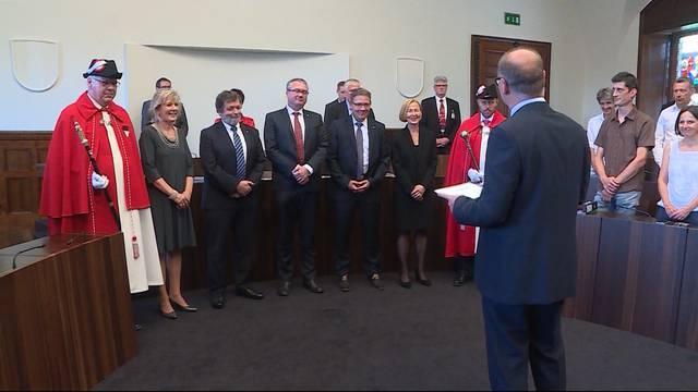 Solothurner Regierung vereidigt