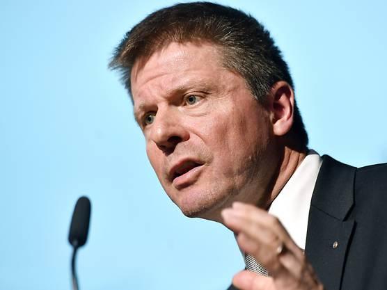 Bäumle lobte seine Partei bei seiner Rücktrittsankündigung.