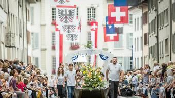 Der Aargau wurde zur Festhochburg.