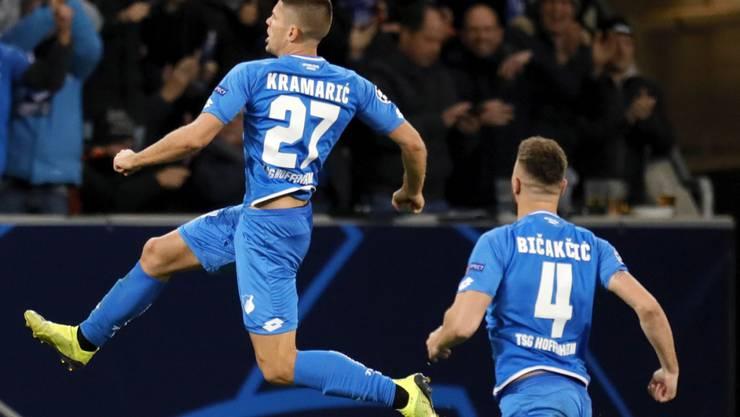 Andrej Kramaric und Ermin Bicakcic hatten wesentlichen Anteil am Sieg von Hoffenheim gegen den 1. FC Nürnberg