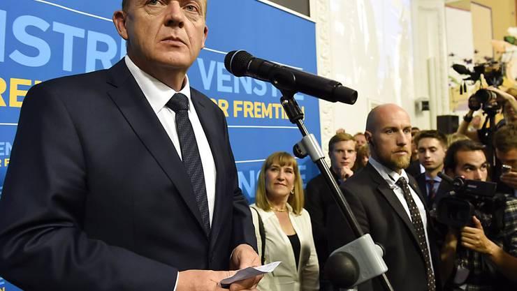 Der Chef der Rechtsliberalen Partei Dänemarks, Lars Lökke Rasmussen, will eine Minderheitsregierung ohne Koalitionspartner bilden (Archivbild).