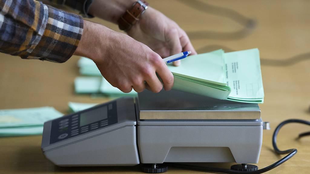 Sechs Kantone wählen neun Ständeratsmitglieder