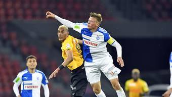 Emil Bergström (rechts mit der Captain-Binde im GC-Dress) verstärkt den FC Basel