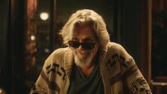 """Mimte für einen Bier-Werbespot wieder den """"Dude"""": """"The Big Lebwoski""""-Schauspieler Jeff Bridges."""