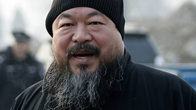 Fragen zu seiner Person wurden aus offizieller Abschrift gestrichen: Ai Weiwei (Archiv)