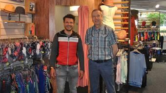 Inhaber Philipp Schluep (links) und Mitgründer Martin Krebs.