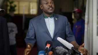 Burundis Präsident Pierre Nkurunziza blieb den Beratungen in Tansania fern